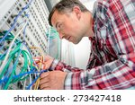 repairing the server | Shutterstock . vector #273427418