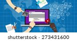 cms content management system | Shutterstock .eps vector #273431600