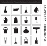 set of construction icons in... | Shutterstock .eps vector #273433499