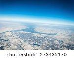 bird eye view of the earth