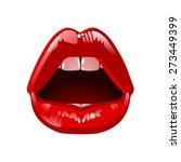cosmetics and makeup. closeup... | Shutterstock .eps vector #273449399