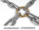 3d. Chain  Connection  Link.