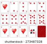 vector illustration of playing... | Shutterstock .eps vector #273487328
