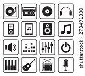 music icon   Shutterstock .eps vector #273491330