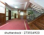 interior of a corridor with... | Shutterstock . vector #273516923