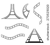 vector film strip background... | Shutterstock .eps vector #273525020