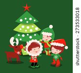 a cartoon vector illustration... | Shutterstock .eps vector #273533018