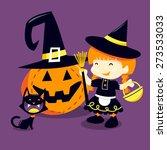 a cartoon vector illustration... | Shutterstock .eps vector #273533033
