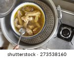 a chinese version of chicken...   Shutterstock . vector #273538160