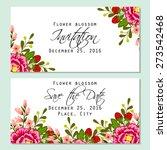 flower blossom. romantic...   Shutterstock .eps vector #273542468