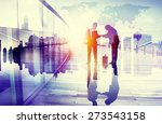 business people japanese...   Shutterstock . vector #273543158