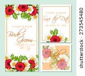 flower blossom. wedding...   Shutterstock .eps vector #273545480