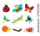 a cartoon vector illustration... | Shutterstock .eps vector #273551063