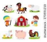 a cartoon vector illustration...   Shutterstock .eps vector #273551210