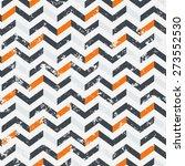 vector seamless geometric... | Shutterstock .eps vector #273552530