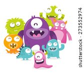 a cartoon vector illustration... | Shutterstock .eps vector #273552974