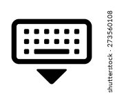 dismiss virtual keyboard line...