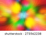 bright abstract multicolored... | Shutterstock . vector #273562238