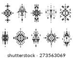 vector tribal elements  ethnic... | Shutterstock .eps vector #273563069