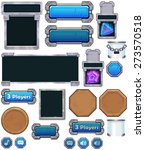 game ui set   stone   metal  ...