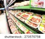 supermarket store blur... | Shutterstock . vector #273570758