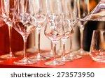 empty glasses | Shutterstock . vector #273573950