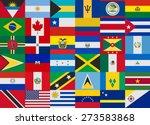 flag of america states vector... | Shutterstock .eps vector #273583868