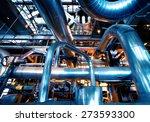 industrial zone  steel... | Shutterstock . vector #273593300