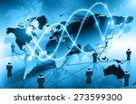 best internet concept of global ...   Shutterstock . vector #273599300