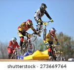 verona  italy   march 28  bmx... | Shutterstock . vector #273669764