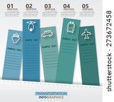 transportation infographics... | Shutterstock .eps vector #273672458