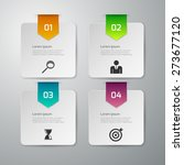 vector illustration of four... | Shutterstock .eps vector #273677120