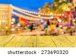 image of night festival on... | Shutterstock . vector #273690320