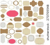 vector illustration of a set of ... | Shutterstock .eps vector #273705548