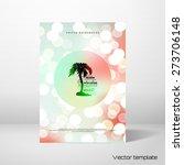vector card in marine style.... | Shutterstock .eps vector #273706148