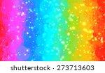 Rainbow And Sparkles Brush...