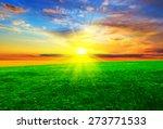 Beautiful Sunset On An...