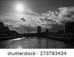 dublin skyline taken from ifsc  ... | Shutterstock . vector #273783434