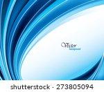 blue vector modern wavy...