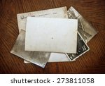 vintage background with old... | Shutterstock . vector #273811058