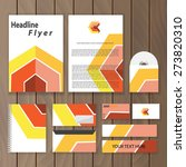 geometric corporate identity.... | Shutterstock .eps vector #273820310