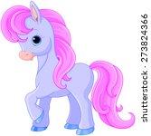 illustration of very cute... | Shutterstock .eps vector #273824366