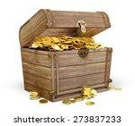 3d. Treasure Chest  Wealth ...