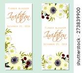 flower blossom. romantic... | Shutterstock .eps vector #273839900