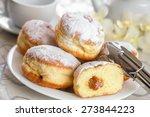 Donut  Cake  Preserves.
