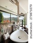 architecture  modern house ... | Shutterstock . vector #273871070