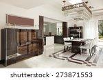architecture  modern house ... | Shutterstock . vector #273871553