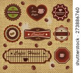 retro design elements | Shutterstock .eps vector #273886760