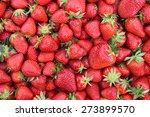 fresh strawberries | Shutterstock . vector #273899570