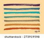 vector set of multicolor hand...